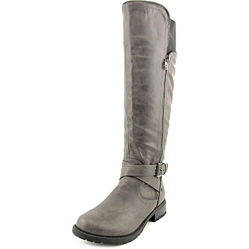 G By Guess Halsey Wide Calf Femmes Synthétique Botte gray