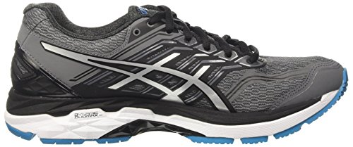 Asics Gt-2000 5, Chaussures de Tennis Homme, Gris Gris (Carbon/silver/island Blue)