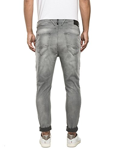 Replay Jogging, Jeans Homme Gris (Grey Denim 009)