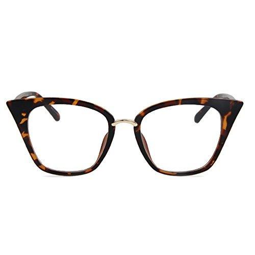 Tijn chic cat eye telaio occhiali da lettura per donne tortoise small