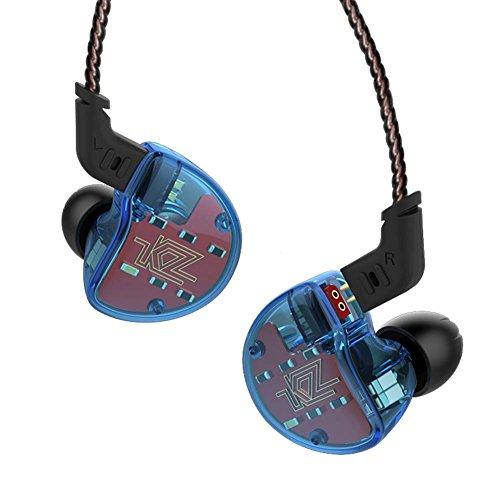 fhörer 10 Treiber In Ear Kopfhörer Earbuds Headset (Blau) (KEINE MIC) ()
