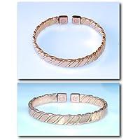 Magnetfeldtherapie Kupfer & Messing Armband 10M - Delikat handgefertigt und Hervorragend Vollendet - in Großbritannien preisvergleich bei billige-tabletten.eu