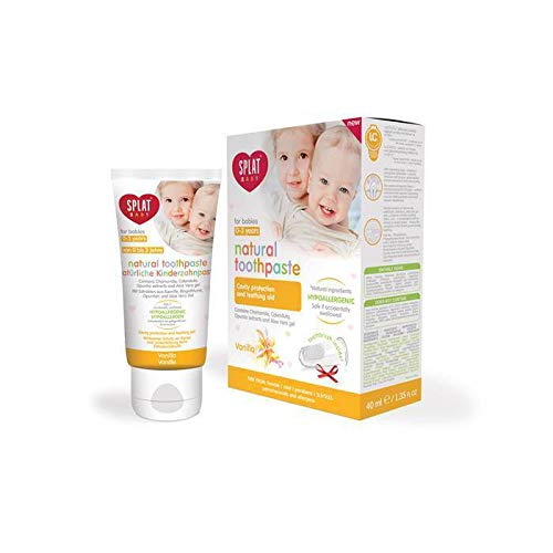 SPLAT BABY natürliche Kinderzahnpasta
