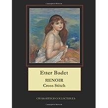 Etter Badet: Renoir Cross Stitch Pattern