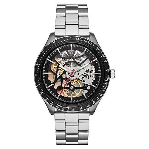Michael Kors Herren Analog Automatik Uhr mit Edelstahl Armband MK9037