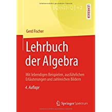 Lehrbuch der Algebra: Mit lebendigen Beispielen, ausführlichen Erläuterungen und zahlreichen Bildern