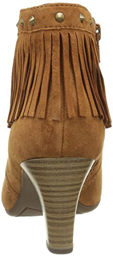 Be Natural 25324, Santiags Femme Marron (Cognac 305)