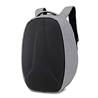 Lywljg Doppelte Umhängetasche Diebstahlschutz Umhängetasche im College Student Schultasche USB-Ladestation Business Computer Pack wasserdicht Tr Avel Rucksack