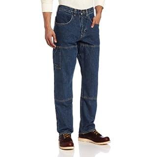 Arborwear Men's Original Work Jeans, Washed Indigo, 42x34