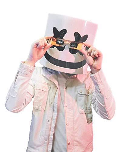 Máscara de Casco de DJ Marshmello, máscara de Festival de...