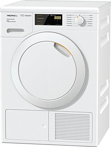Miele TDD 220 WP Active Family Wärmepumpentrockner/Energieklasse A++ (230kWh/Jahr)/8 kg Schontrommel/Duftflakon für frisch duftende Wäsche/Startvorwahl und Restzeitanzeige/Knitterschutz
