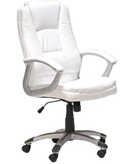 Fauteuil de bureau blanc - Fauteuil bureau blanc ...