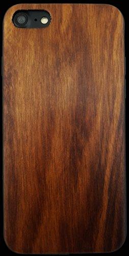 Gamma Shark iPhone 6/6S/7/8Echtholz Fall mit Laminat Beschichtung und TPU Gummi-Einlage-Stoßfest + Anti Kratzer, Style 5, iPhone/s - Laminat-einlage