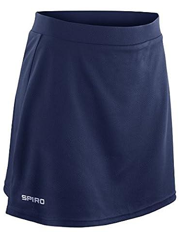 Jupe-short pour femme Spiro - bleu - XXL