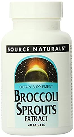 Source Naturals Broccoli Sprouts Extract (60 Vegetarian Tablets)
