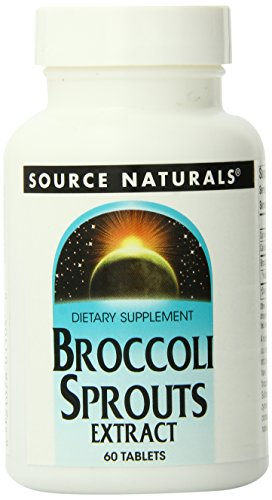 Source Naturals, estratto di germogli di broccoli, 60 tavolette