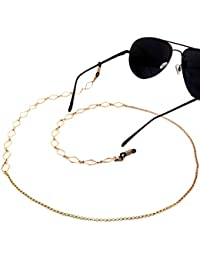Imixlot Beaded Glasses Sunglasses Spectacles Anti-Skidding Neck Chain Decorated