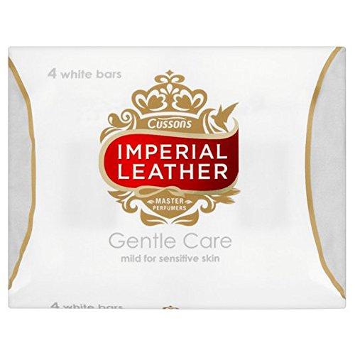 Imperial Leather Gentle Care Savon doux pour la peau sensible de 4 x 100 g