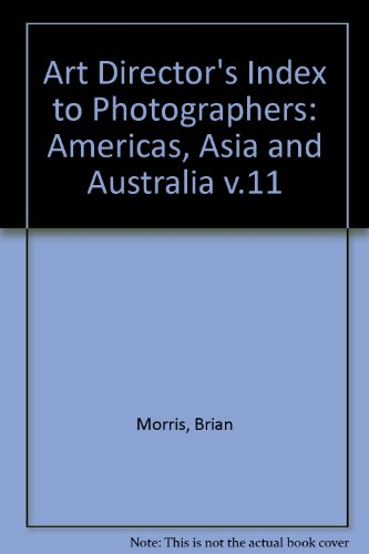 Art Directors' Index to Photographers, No. 11: Asia, Australasia the Americas