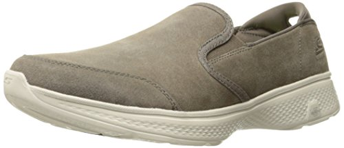 Skechers Go Walk 4 - Deliver Taupe Suede/trim