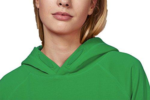 Unisex Bio Kapuzenpullover aus 100% Bio-Baumwolle, Bio Hoodie, Damen Herren Bio Hoodie, Damen und Herren Bio Kapuzensweater, Kapuzensweatshirt aus 100% Baumwolle (Bio) Organic Fresh Green