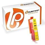 Bubprint Cartucho de Tinta Compatible para HP 364 XL para impresora PhotoSmart C309N C410C B210 C6324 C5383 B010 Deskjet D5460 OfficeJet 4610 Amarillo