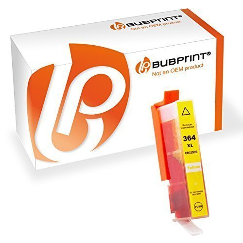 Bubprint Druckerpatrone kompatibel zu HP 364XL 364 XL yellow HP Photosmart 5520 5510 6520 7520 DeskJet 3520 3070A OfficeJet 4620