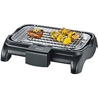 Severin PG 8510 - Barbacoa grill de 2300 W, microinterruptor de seguridad, 37 x 23 cm