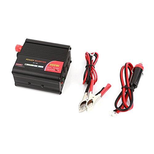 Wechselrichter-Adapter Premium-Qualität Aluminiumlegierung DC12V zu AC220V 300W tragbares Netzteil im Freien -