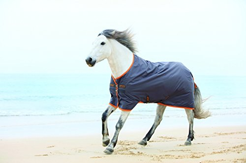 Horseware Amigo Turnout Hero 6 lite Excalibur orange Regendecke (115)