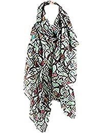 MRULIC Echarpes foulards femme Hijab pour l islam Musulman Islam Muslim  Viscose Premium Maxi Crinkle b903c2d9541