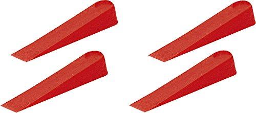 Fliesenkeile rot 250 Stück 30 x 6 (0-5mm)