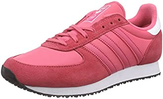 adidas Originals  ZX Racer, Sneakers Basses femme - Rose - Pink (Lush Pink S16-St/Light Pink/Ftwr White), 42