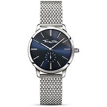 Thomas Sabo Reloj para mujer Glam Spirit Azul y plata WA0301-201-209-
