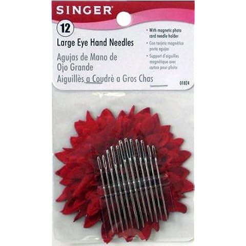 Aghi per macchina da cucire Singer in pelle (3-Pack)