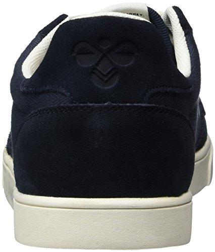 Hummel Sl. Stadil Herringbone Low, Sneakers Basses Femme Bleu (Ombre Blue)