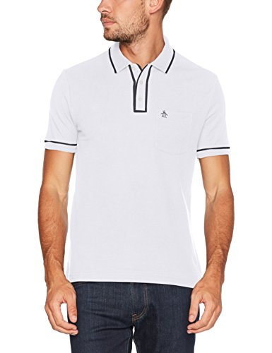 Original Penguin Earl Shirt, Polo Uomo White