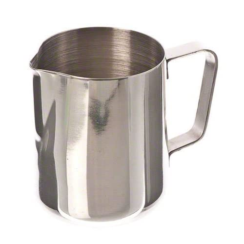 Chytaii 350ml Espresso Coffee Frothing Stainless Steel Milk Jug Milk Pitcher Milk Frothing Pitcher