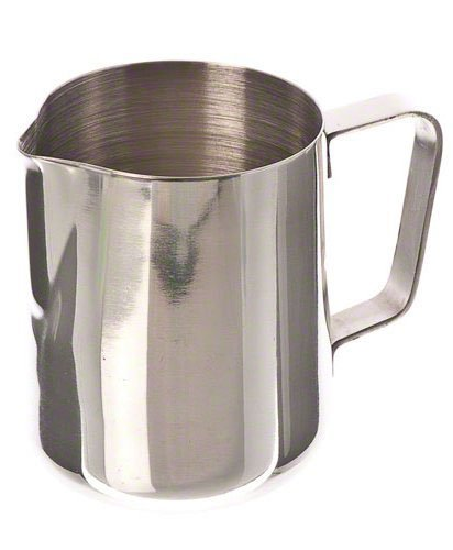 41lzNo9nSFL - Chytaii 350ml Espresso Coffee Frothing Stainless Steel Milk Jug Milk Pitcher Milk Frothing Pitcher
