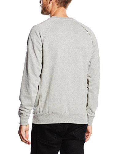 ONLY & SONS Herren Sweatshirt Onsfrede Crew Neck Noos Grau (Light Grey Melange)