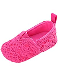 UOMOGO® Scarpine neonato Toddler Baby Girl Bowknot Soft Sole Non-Slip Footwear Shoes