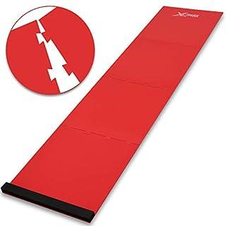 ACM Turnier-Matte - Puzzle Dartteppich - Dartteppich - Dart - Dartmatte mit Farbauswahl (rot)