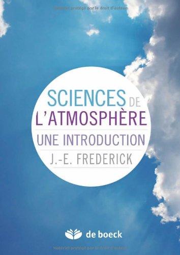 Science de l'Atmosphere une Introduction