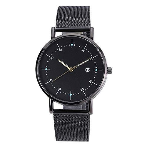 XZDCDJ Damen Uhr Armbanduhr Quarz Uhr High-End Blue Glass Life Waterproof Distinguished Jungen Uhr