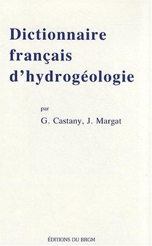 Dictionnaire franais d'hydrogologie