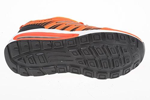 GIBRA homme très légère et confortable, orange fluo, taille 41–46 pied Orange - Orange fluo