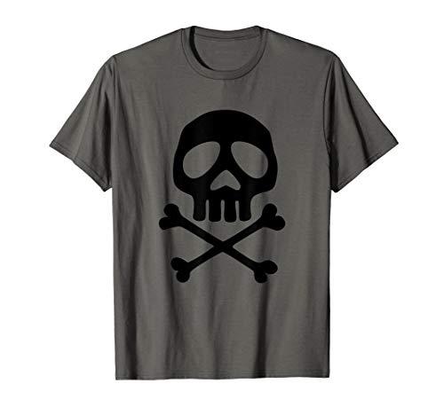 Totenkopf Space Pirate Captain Halloween Jolly Roger T-shirt