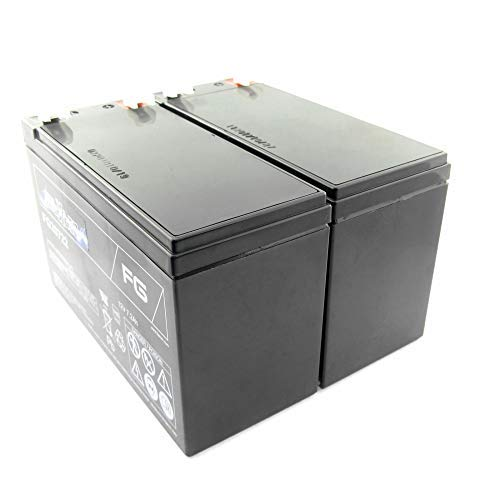 MTXtec Ersatzakku für USV APC Smart UPS 450/600/700 (2 Einzelakkus)