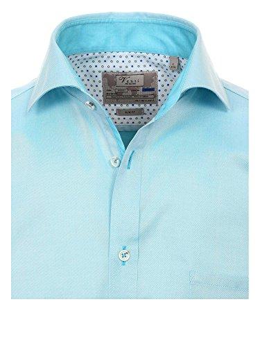 Venti Messieurs Chemise détente Également disponible en grandes tailles 100 % coton bleu clair