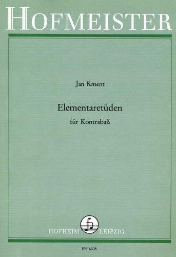 ELEMENTARETUEDEN - arrangiert für Kontrabass [Noten / Sheetmusic] Komponist: KMENT JAN